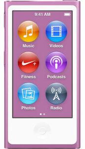 >> Apple iPod nano 7th & 8th Generation Purple (16GB) Player 90days Warranty <<