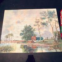 Perfect Picture Vintage Jigsaw Puzzle 375+ Pieces ALL THERE  in ORIGINAL BOX