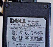Dell 1503FP  Moniteur LCD Alimentation 12V 3A Adaptateur secteur PSCV360104A