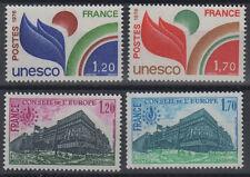 Conseil de l'Europe, 4 timbres n°56 à 59, année 1978**
