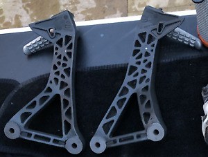 Original Unused Ducati Supersport 939 Pair Rear Pillion Passenger Footrests
