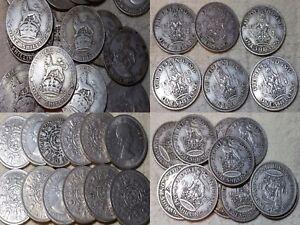 George V - George VI Elizabeth II 1902-1966 1 Shilling Coins Pick Your Year