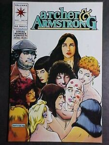 ARCHER & ARMSTRONG #13! NM- 1993 VALIANT