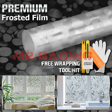*Premium Frosted Film Glass Home Bathroom Window Security Privacy Sticker #4002