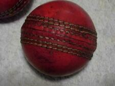 FABULOUS CLASSIC ANTIQUE VINTAGE STYLE REAL RED LEATHER CRICKET BALL