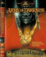 Army of Darkness DVD - 1992 Bruce Campbell REGION 4 AUST VINTAGE MOVIE