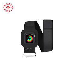 Twelve South ActionSleeve for Apple Watch, Slim Armband 38mm Apple Watch (black)