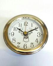 "12 Deer Hunter CLOCK INSERTS White Dial,easy to read numbers, 3 1/8"" dia #deer"