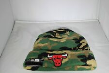 New Era Essential Camo Chicago Bulls Knitted Beanie - Camoflage