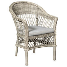 Soraya Natural Wicker Dining or Lounge Chair Home & Garden Furniture Chairs