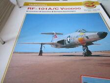 Fliegen 4: Karte 130 McDonnell RF 101A, RF 101C Voodoo Aufklärer