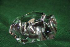 Presse-papier cristal Val saint Lambert signé