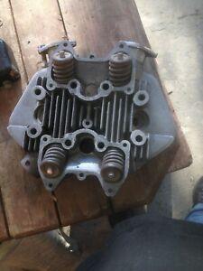 1965 Triumph T120 cylinder head  unit Bonneville 9 stud T120C TT