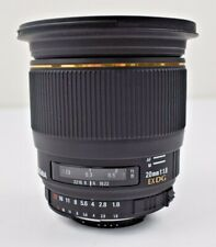 Sigma, 20mm f/1.8 EX DG Lens, 82 mm, F-Mount (USED & GOOD)