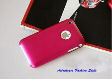 Aluminium Hard-/Handy Case, für Apple iPhone 3G 3GS , pink, weitere Farben, Neu