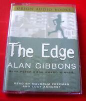 Alan Gibbons The Edge 2-Tape Audio Bk Abuse/Racism Malcolm Freeman/Lucy Akhurst