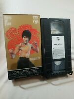 Fists of Fury Bruce Lee Lo Wei 90 VHS Video RARE ORIGINAL HTF OOP Martial Arts