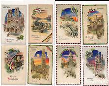 Halt gegen das Licht  8x Ansichtskarten  Patriotika  Militär Feldpost  WW1 ( 281