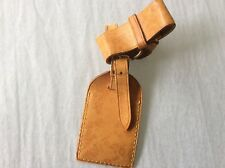 LOUIS VUITTON STRAP HOLDER and Address Tag for KEEPALL/BANDOULIERE Vachetta #A3
