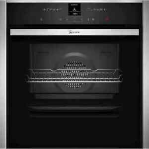NEFF B57CR22N0B N70 Slide&Hide™ Built In 60cm A+ Electric Single Oven Stainless