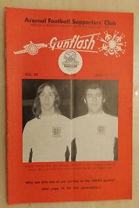 GUNFLASH - ARSENAL Football  Supporters Club Magazine Vol 24  No 241 March 1973