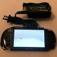 Sony PSP-3000 Handheld System - Piano Black Bundle Great Condition