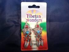 Tibetan Wonders Earrings nickel free. Arts & Crafts from Tibet