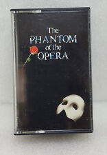 THE PHANTOM OF THE OPERA - ORIGINAL LONDON CAST -2 AUDIO CASSETTE-POLYDOR 1987