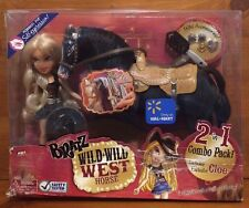 NRFB Bratz Wild Wild West 2 in 1 Combo Pack Cloe Stylin Hair Horse Exclusive HTF
