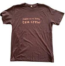 Mr Scruff T-Shirt - 2010, Brown Mens Size Medium