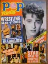 POP ROCKY 23 - 1992 (0) WWF Prince Marky Mark Bryan Adams Jacko Vanessa Paradis