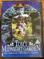 Tom's Midnight Garden DVD 1999 Kids Fantasy Film Movie w/ Greta Scacchi