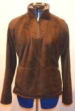 The North Face 'Mossbud' Fleece 1/4 Zip Pullover Women's (Brown) Large