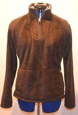 The NORTH FACE 'Mossbud' Fleece 1/4 Zip Pullover Women's (Brown) Medium