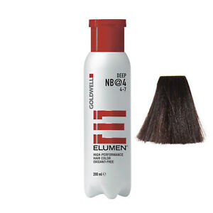 Goldwell Elumen NB@4 Natural Brown Deep 6.7 oz / 200 ml amonia peroxide free