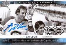 Guy Lafleur 2018-19 UD Centennial Standouts signed auto