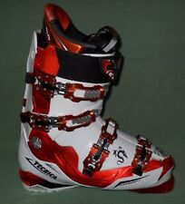 CHAUSSURES DE SKI BLANC ET ORANGE. DRAGON TECHNICA 110 ULTRAFIT. T 42,5. MP 27,5