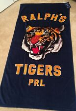 Polo Ralph Lauren Ralph's Tigers Cotton Beach Towel 66 inches NEW