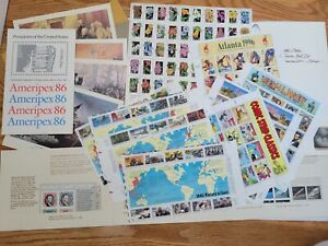US Stamps Collections Lots Mint Full Sheet - WWII, Ameriplex, 1981 commemorative