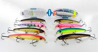 River2sea TRIHO MINNOW 120F, fishing lures, bait, 120mm, 21g(0,7407oz), hooks №1