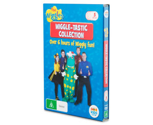 The Wiggles Collection 5-DVD Set Over 6 Hours Viewing New Free Express Postage
