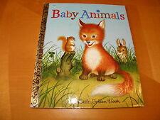"""Little Golden Book 517 Baby Animals 1966 """"K"""" 11th Print Garth Williams EXC+"""