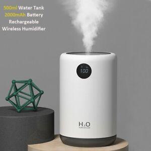 Elektrisch Ultraschall Luftbefeuchter Aroma Diffuser Humidifier Aromatherapie DE