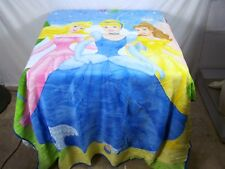 The Northwest Company Disney Princess Aurora Cinderella Belle Soft Throw Blanket
