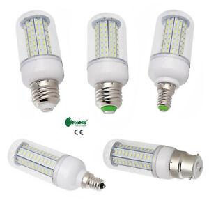 Dimmable E12 E26 27W 25W 18W 15W 12W 7W LED Corn Bulbs E27 E14 B22 Light Lamp RK