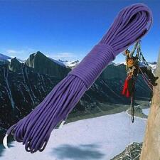 100FT Paracord Parachute Cord Lanyard Desert Survive Type-III 7 Strand Purple TR