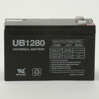 UPG 12V 8Ah F2 SLA Battery Replacement for APC RBC2