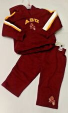 NCAA ARIZONA SUNDEVILS ASU BABY 2 PIECE OUTFIT SIZE 12 MONTHS BRAND NEW