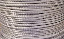 2MM X 100M Grey Dyneema® Fiber Synthetic Fishing Winch Marine rope tens: 530kg