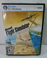 Microsoft Flight Simulator X PC DVD Deluxe Edition Key Manual 2006 - Disc 1 Only